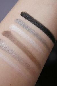 SET cọ và 3 hộp phấn mắt elf day to night smoky