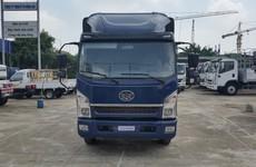 Xe tải Faw tải trọng 7,25t thùng dài 6270 rộng 2m2 Cabin Isuza Giá Tốt Nhất