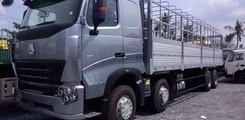 Bán Xe Tải Howo 4 Chân 17T9 17.5 tấn 17 tấn 5 17T5 máy 371 và 375 thùng mui bạt. Giá Xe đầu kéo Howo 375, 420 2cầu, Ảnh số 1