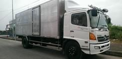 Xe tai Hino 15 tấn, bán xe tải hino 3 chân FL8JPSL 15 tấn thùng dài 9,2m, xe hino FL8JPSA 16 tấn thùng dài 7,6m, Ảnh số 4
