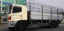 Bán xe tải HINO 3 chân, 3 giò 16 tấn, 15 tấn, 15.7 tấn, 16.4 tấn loại FL8JTSL thùng siêu dài loại một cầu lết 16 tấn, Ảnh số 4