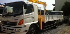 Giá bán xe tải Hino 9T4 Gắn cẩu, Lắp cẩu Soosan SCS746L 8T4, Loại xe HINO FG8JPSL gắn cẩu SCS746L. 9,4 tấn cẩu 8,4 tấn, Ảnh số 4