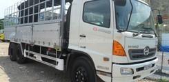 Giá xe tải Hino 4,5 tấn, 5,2 tấn, 6 tấn, 6,4 tấn, 8 tấn, 9,4 tấn, 15 tấn, 16 tấn mui bạt, thung kín, đông lạnh, gắn cẩu, Ảnh số 4