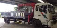Bán xe tải Dongfeng 9 tấn gắn cẩu trả góp, Xe tải Dongfeng 9 tấn gắn cẩu Unic 3 tấn Unic 330, 340, 370, 5 tấn Unic 500.., Ảnh số 4