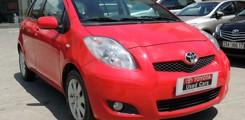 Toyota Cầu Diễn bán Yaris 1.3 2010 nhập nhật màu đỏ, Ảnh số 1