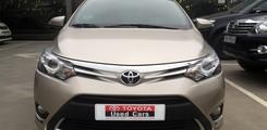 Toyota Cầu Diễn bán Toyota Vios G 2015 màu nâu vàng., Ảnh số 3