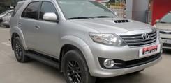 Toyota Mỹ Đình CN Cầu Diễn bán Fortuner G 2015 màu bạc, Ảnh số 1