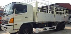 Xe tải Hino 3 Chân FM 15T6. Bán xe tải Hino FM8JNSA 15T6 15.6t 15.6 tấn 3 chân loại 2 Cầu thật Thùng Mui Bạt, Ảnh số 4