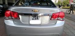 Bán xe Chevrolet cruze LTZ 1.8 2011 màu ghi bạc,số tự động ,xecuwcj đẹp biển HN, Ảnh số 4