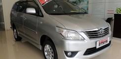 Toyota Cầu Diễn bán Innova E 2013 màu bạc, Ảnh số 1