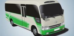 Xe buýt 40 chỗ, 60 chỗ Hồng hà dáng county, samco giá rẻ chất lượng cao, Ảnh số 3