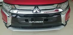 Xe SUV Outlander 2.4 CVT phiên bản 2017, Bán xe Outlander màu đỏ tại Đà Nẵng, Ảnh số 2