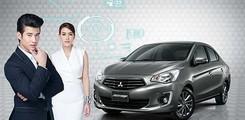 Xe Attrage số tự động tại Đà Nẵng, Bán xe Attrage CVT 2017 xe nhập nguyên chiếc, Ảnh số 4