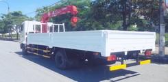 Xe hino fc9jlsw gắn cẩu unic 340 thùng dài 6.1m, Ảnh số 2