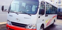 Giá bán xe County 29 chỗ thân dài 7m3, xe khách 29 chỗ thân dài Trường Hải, Ảnh số 3
