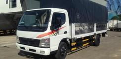 Chuyên bán xe tải Fuso Canter 8.2 HD thùng kèo mui bạt tải trọng 4.5 tấn, Ảnh số 3