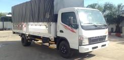 Chuyên bán xe tải Fuso Canter 8.2 HD thùng kèo mui bạt tải trọng 4.5 tấn, Ảnh số 2