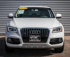 Xe Audi Q5 2.0T Premium Plus 2015 White/Tan, Ảnh số 1