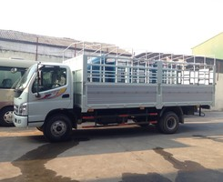 Xe tải 7 tấn ollin thaco trường hải oliin 700b thùng dài 6,15m ollin 700c 7 tấn thaco thùng dài 5,77m gặp Mr Huỳnh, Ảnh số 1
