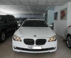 Bán BMW 730Li 2009, đk 2010 xe Nhập khẩu, màu trắng/nội thất đen, Cam kết chất lượng, bao test, Ảnh số 1