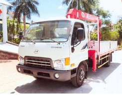 Xe huyndai hd65 gắn cẩu unic 3 tấn urv344 tải 5,5 tấn, Ảnh số 2