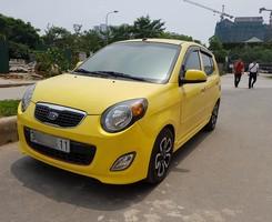 Bán Kia Morning SLX 2010 full, xe nhập, màu vàng tranh, xe it sử dụng cực chất, Ảnh số 2