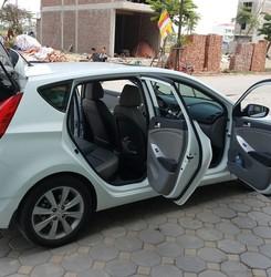 Bán xe ô tô Acent hatback màu trắng chính chủ gia đình sử dụng, Ảnh số 1