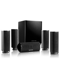 Bộ loa giải trí tại gia Harman Kardon HKTS 16BQ 5.1 Channel Home Theater Speaker Package Black