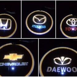 Đèn led logo xe ô tô tại Hải Phòng