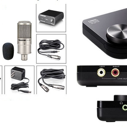Combo Micro Takstar PC K200 và Creative Sound Blaster X Fi Surround 5.1 Pro