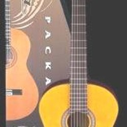 Clasic guitar Aria CGPN 002 full box