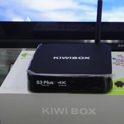 Android Tivi Kiwi box S3 plus ram 2GB