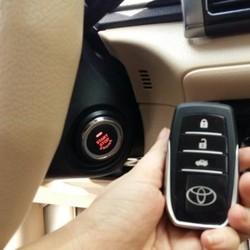 Lắp Chìa Khóa Start Stop Smart Key Cho Toyota Camry