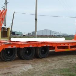 Bán rơ moóc lùn chở xe, máy chuyên dùng Doosung 38.2 tấn xuất xứ Hàn Quốc Việt Nam 2017