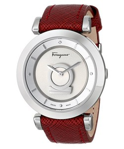 Đồng hồ nữ Salvatore Ferragamo Women s FQ4020013 Minuetto Analog Display Swiss Quartz Red Watch