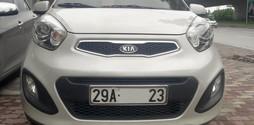 Bán Kia Morning model 2012 full đồ, màu trắng, nhập HQ nguyên chiếc,.
