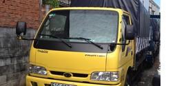 Xe tải K165S, 2t4, 2t3 mới nhất, Xe tải KIA 2t3, 2t4 Hỗ trợ trả g.