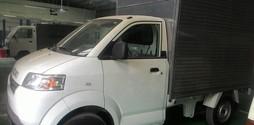Đại lý Suzuki Việt Anh bán xe tải 7 tạ Carry Pro thùng kín sóng in.
