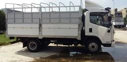 Xe tải FAW tải trọng 7 tấn,thùng dài 5,1m.