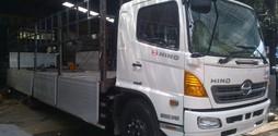 Xe tải Hino FL8JTSL,3 chân,2 dí 1 cầu,16 tấn/16t,thùng dài 9.2m/9.2 m.