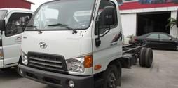 Xe Hyundai nâng tải lên 5 tấn HD500 tại Hải Phòng.