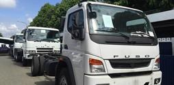 Khuyên mại thùng Xe tải FUSO nhật 7.3 tấn hàng , nhập khẩu nguyê.