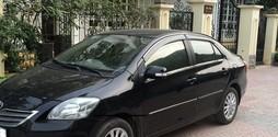 Xe Toyota vios E, màu đen, sản xuất 2011,.