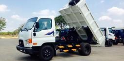 Xe tải ben tự đổ Hyundai Hàn Quốc HD99 tải trọng 5,5tấn..
