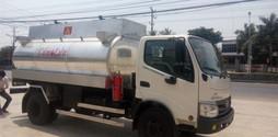 Xe bồn chở xăng hino 7m3,xe xitec chở xăng hino 7m3,xe bồn 7m3.