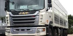 Xe tải thùng JAC 5 chân giá cực tốt ưu đãi lên đến 40 triệu đ.