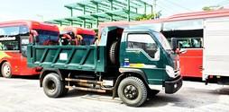 Xe ben THACO FORLAND đa dạng tải trọng từ 0.99 đến 8.7 tấn chất .
