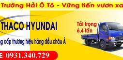 Xe HYUNDAI đời mới HD650 chất lượng HÀN QUỐC 6,4 tấn nâng tải .