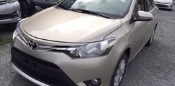 Toyota Vios 1.5E số tự động vô cấp mẫu 2017.
