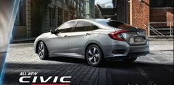Honda Civic 2016 Phiên bản mới 2017 ra mắt,Giá civic 2016 Model 1.5Turbo.